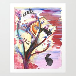 Leap Year  Art Print