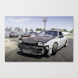 Run For Your Lives! Canvas Print