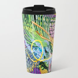Dragon Of The Rose Travel Mug