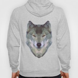 Polygon wolf Hoody