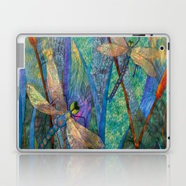 Colorful Dragonflies Laptop & iPad Skin