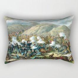 Battle Of The Big Horn Rectangular Pillow