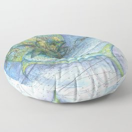 Keys Mahi Mahi  Floor Pillow