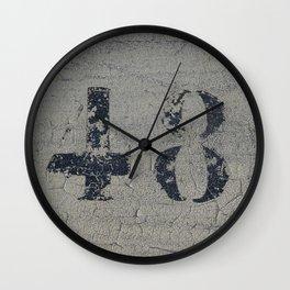 48 Wall Clock