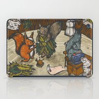 sewing iPad Cases featuring Sewing Room by Kelsey Oseid
