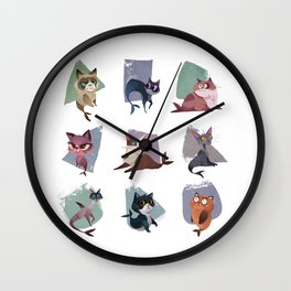 Mercats Wall Clock