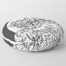 Mucha's Inspiration Floor Pillow