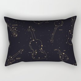 Heavens Music Rectangular Pillow