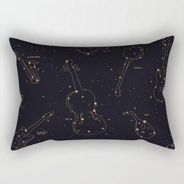Heavens Music Rectangular Pillow