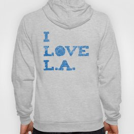 Los Angeles Street Map Hoody