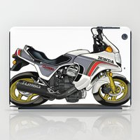 honda iPad Cases featuring 1982 Honda CX500TC Turbo by Saddle Bums