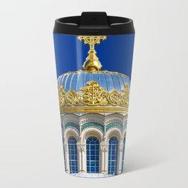Marine Kathedrale in Kronstadt / Saint Petersburg Travel Mug