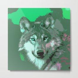 Wolf 049 Metal Print