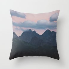Evening vibes Throw Pillow