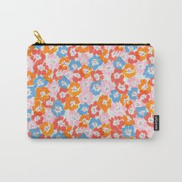 Morning Glory - Pink Multi Carry-All Pouch