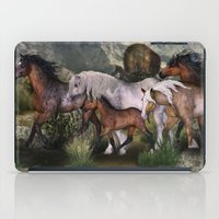 into the wild iPad Cases featuring Wild by Illu-Pic-A.T.Art