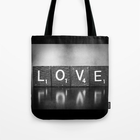 Love is a Beautiful Word - a fine art photograph Tote Bag