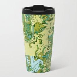 Green Town Travel Mug