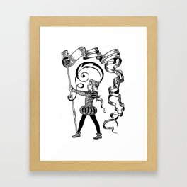 page-boy Framed Art Print