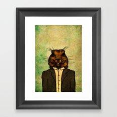 Mr Groundhog Framed Art Print