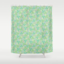 Whimsical Leaves Shower Curtain