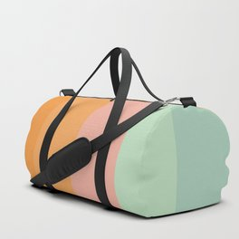 Vintage Rainbow Duffle Bag