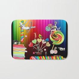 Sweet Rainbow Hug Bath Mat