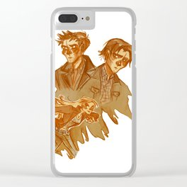 Supernatural early seasons Clear iPhone Case