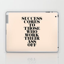 Success Comes to Those Laptop & iPad Skin