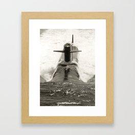 USS JAMES MADISON (SSBN-627) Framed Art Print