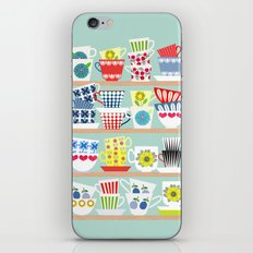 Scadinavian Cups Collection iPhone & iPod Skin