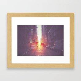 Urban Wilderness Framed Art Print