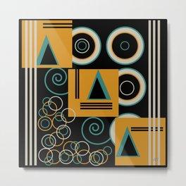 Modern Aztec Metal Print