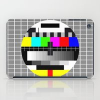 tv iPad Cases featuring TV by Les Hameçons Cibles