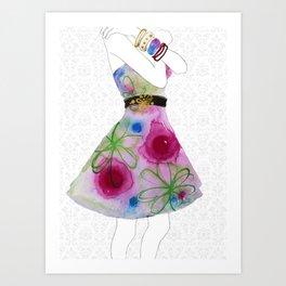 Fashion, Baby. Art Print