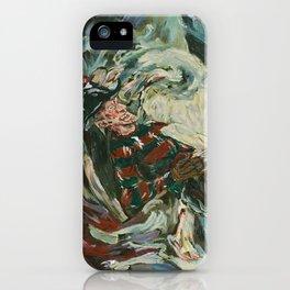 Nightmare in the Tempest: Freddy Krueger iPhone Case