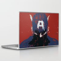 captain Laptop & iPad Skins featuring The Captain by Purple Cactus