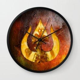 Chandra Nalaar the Firebender Wall Clock
