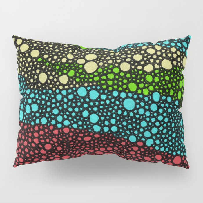 River Pebbles Pillow Sham