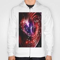 Two cosmic hearts Hoody