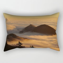 sea of fog Rectangular Pillow