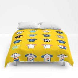 TOUR DE FRANCE: 101 - 78th Edition Comforters