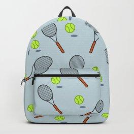 Tennis pattern Backpack