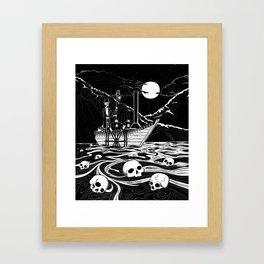 Steamboat across the Styx Framed Art Print