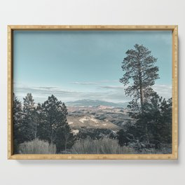 Dixie Forest View  Serving Tray