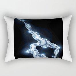 Silver dancer Rectangular Pillow