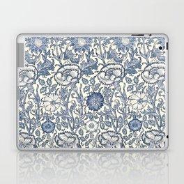 William Morris Navy Blue Botanical Pattern 6 Laptop & iPad Skin