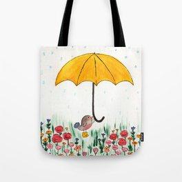 Robin's Umbrella Tote Bag