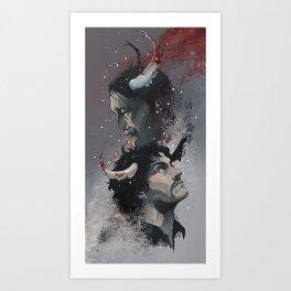 Winter Blood Art Print