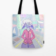 Pastel Street Snap Tote Bag